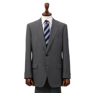 ビジネススーツ/メンズ/通年/ウォッシャブル/BASIC 2つボタンスーツ バーズアイ NZ-01 チャコールグレー×ライトグレー|uktsc
