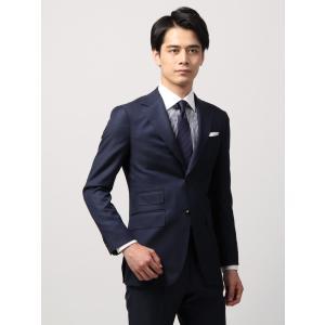 ビジネススーツ/メンズ/秋冬/FIT 2つボタンスーツ シャークスキン YC-01 ブルー|uktsc