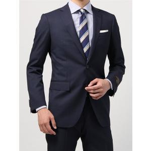 ビジネススーツ/メンズ/秋冬/FIT 2つボタンスーツ マイクロパターン NR-05 ネイビー×サックスブルー|uktsc