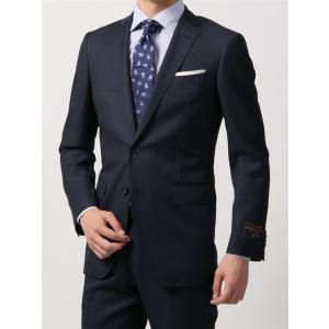 ビジネススーツ/メンズ/秋冬/FIT 2つボタンスーツ ウインドーペーン NR-05 ネイビー×ブラック|uktsc