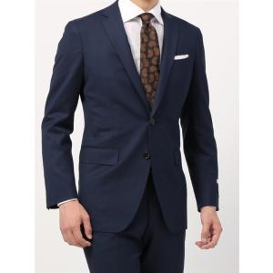 ビジネススーツ/メンズ/通年/FIT 2つボタンスーツ マイクロパターン NR-05 ネイビー|uktsc