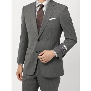 2パンツスーツ/メンズ/通年/ツーパンツ・撥水/BASIC 2つボタンスーツ 無地 IZ-01 ミディアムグレー|uktsc
