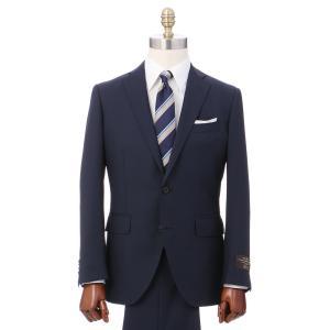 2パンツスーツ/メンズ/秋冬/ツーパンツ/2つボタンスーツ マイクロチェック CH-14 ネイビー×ブルー|uktsc
