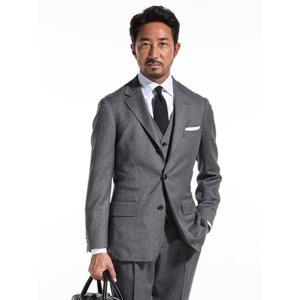 ビジネスジャケット/メンズ/秋冬/FORZA STYLE別注/クラシックジャケット/Fabric by REDA/ ミディアムグレー|uktsc
