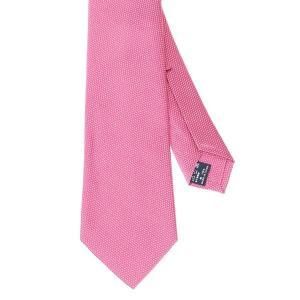 ネクタイ/レギュラータイ/メンズ/セッテピエゲ/織柄ネクタイ ピンク系|uktsc