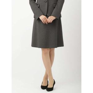 スーツ/レディース/セットアップ/通年/destyle/JAPAN QUALITY/ポンチジャージーフレアスカート ミディアムグレー|uktsc