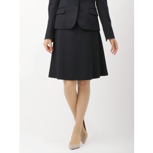 スーツ/レディース/セットアップ/通年/destyle/JAPAN QUALITY/ポンチジャージーフレアスカート ネイビー|uktsc