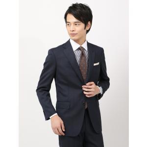 スーツ/メンズ/秋冬/ツーパンツ/クラシック 2つボタンスーツ ピンヘッド IZ-01 ネイビー×ブルー|uktsc