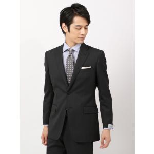 スーツ/メンズ/秋冬/ツーパンツ/クラシック 2つボタンスーツ ピンヘッド IZ-01 チャコールグレー×グレー|uktsc
