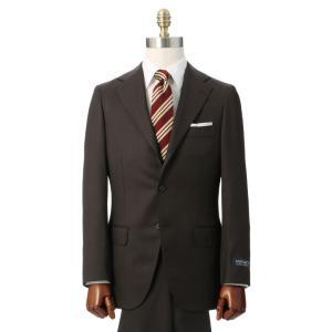 ビジネススーツ/メンズ/秋冬/HAND MADE/3つボタンスーツ 織柄 TR-16 ブラウン|uktsc