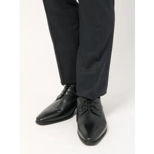 ビジネスシューズ/メンズ/GEOX別注/カーフレザー プレーントゥシューズ ブラック|uktsc