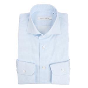 ドレスシャツ/長袖/メンズ/blazer's bank.com/ホリゾンタルカラードレスシャツ プリ...