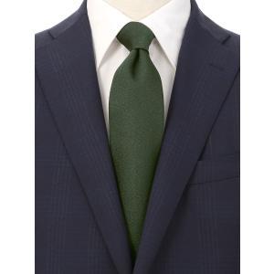 ネクタイ/レギュラータイ/メンズ/British Collection/JAPAN MADE/織柄ネクタイ グリーン系|uktsc