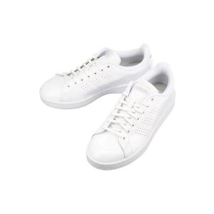 adidas ADVANCOURT LEA W スニーカー ホワイト/EE7494|ザ・スーツカンパニーPayPayモール店