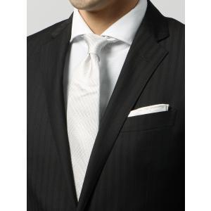 ネクタイ/レギュラータイ/メンズ/グレンチェック柄ネクタイ グレー系|uktsc