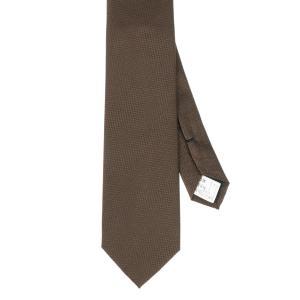 ネクタイ/レギュラータイ/メンズ/織柄ネクタイ ブラウン系|uktsc