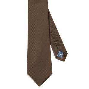 ネクタイ/レギュラータイ/メンズ/セッテピエゲ/織柄ネクタイ ブラウン系|uktsc