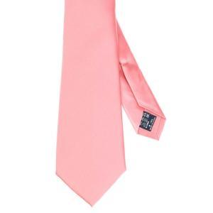 ネクタイ/レギュラータイ/メンズ/セッテピエゲ/ソリッドネクタイ ピンク系|uktsc