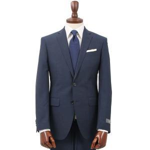 スーツ/メンズ/通年/FORMAL/CERIMONIA/アドバンス 2つボタンスーツ 織柄 NR-04 ネイビー|uktsc