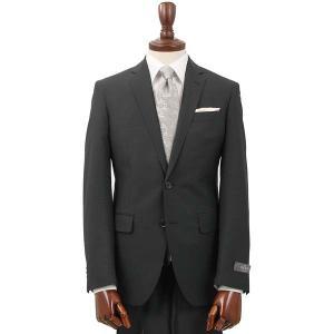 スーツ/メンズ/通年/FORMAL/CERIMONIA/アドバンス 2つボタンスーツ 織柄 NR-04 ブラック|uktsc