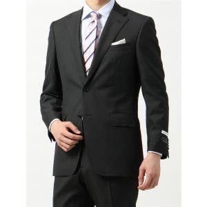 ビジネススーツ/メンズ/通年/BASIC 2つボタンスーツ ジャカード IZ-01 チャコールグレー|uktsc
