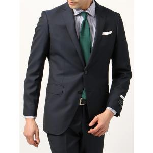 ビジネススーツ/メンズ/通年/FIT 2つボタンスーツ ジャカード NR-05 ブルー|uktsc
