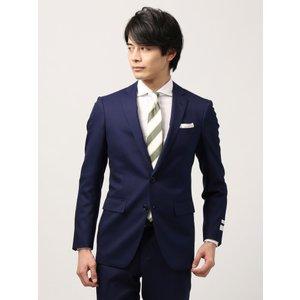 ビジネススーツ/メンズ/通年/FIT 2つボタンスーツ シャドーストライプ NR-05 ブルー