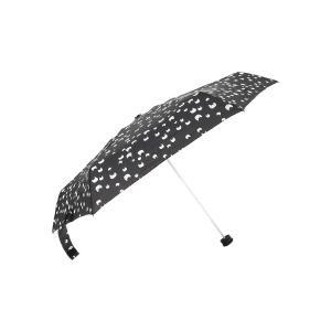 グッズ/メンズ/HUS./Smart duo UVカット折り畳み傘 ブラック×ホワイト×イエロー/キャット|uktsc
