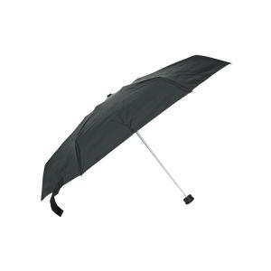 グッズ/メンズ/HUS./Smart Parasol SOLID 収納ケース付き UVカット折り畳み傘 ブラック|uktsc