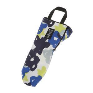 グッズ/メンズ/HUS./Umbrella Case2 傘ケース ブルー×ホワイト×イエロー/フラワ...