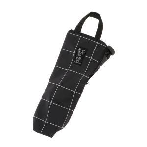 グッズ/メンズ/HUS./Umbrella Case2 傘ケース ダークネイビー×ホワイト/ウインドーペーン|uktsc