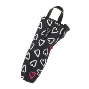グッズ/メンズ/HUS./Umbrella Case2 傘ケース ネイビー×ホワイト×ピンク/ハート|uktsc