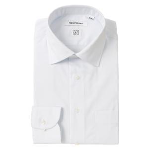 ドレスシャツ/長袖/メンズ/SUPER EASY CARE/ワイドカラードレスシャツ 無地 〔EC・FIT〕 サックスブルー|uktsc