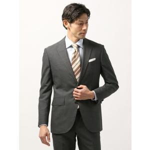 ビジネスジャケット/メンズ/春夏/blazer's bank.com/サマーライトシャンブレー ウールジャケット ミディアムグレー uktsc