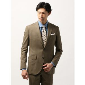 ビジネスジャケット/メンズ/春夏/blazer's bank.com/サマーライトシャンブレー ウールジャケット ライトブラウン uktsc