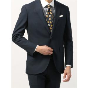 ビジネスジャケット/メンズ/春夏/blazer's bank.com/サマーライトシャンブレー ウールジャケット ネイビー uktsc