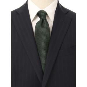 ネクタイ/レギュラータイ/メンズ/blazer's bank.com/JAPAN MADE/織柄ネクタイ グリーン系|uktsc