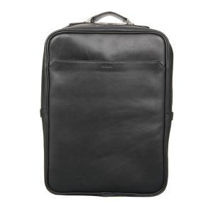 バックパック/バッグ/メンズ/撥水/SEEKER別注/ウォータープルーフレザーバックパック ブラック|uktsc