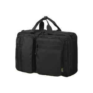 ブリーフケース/ビジネスバッグ/メンズ/撥水/コーデュラナイロン×ポリエステル3WAYバッグ ブラック|uktsc