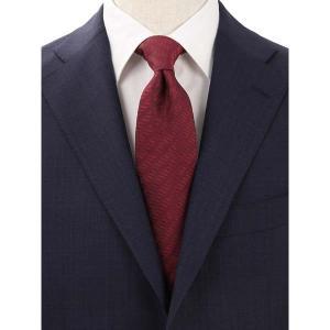 ネクタイ/レギュラータイ/メンズ/Solid Tie's Collection/HIGH QUALITY SILK ネクタイ ワイン uktsc