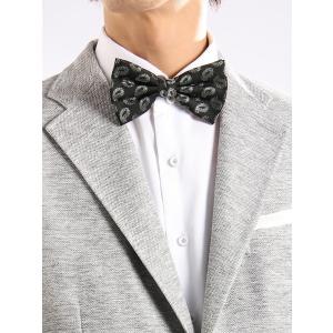 イタリアの上質生地を使用した、身に着ける度に心引き締まる蝶ネクタイ。シルク100%で仕上げた贅沢な生...