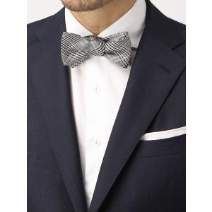 イタリア製の生地を日本国内で縫製した、ハイグレードな蝶ネクタイ。上質シルクを贅沢に使用し、リッチな風...