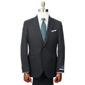 ビジネススーツ/メンズ/通年/JAPAN MADE SUIT/2つボタンスーツ ピンヘッド HT-01 ダークネイビー×ライトグレー|uktsc