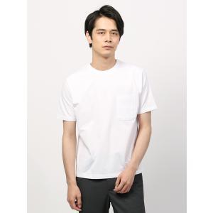 カットソー/メンズ/COOL MAX/WE SUIT YOU/サッカー 半袖クルーネックTシャツ ホワイト uktsc