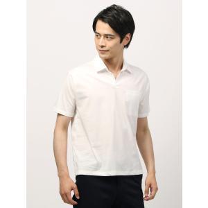 カットソー/メンズ/WE SUIT YOU/バイオウェザースキッパーカラーシャツ ホワイト uktsc