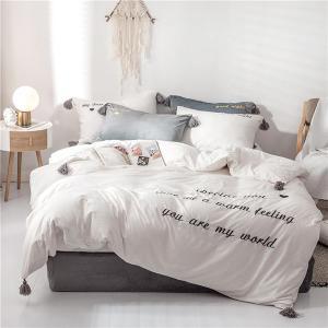 布団カバーセット S/Mサイズ 秋冬 保温 全10色 bedding-0598