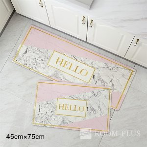 ■サイズ 45cm×75cm ■素材 PVC  玄関マット/フロアマット/バスマット/寝室/リビング...