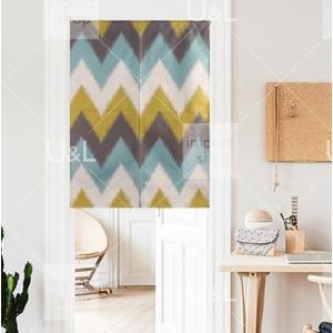 のれん キッチン雑貨 ダイニング 目隠し カフェ風 リビング カーテン おしゃれ 北欧 暖簾 living-0047の写真