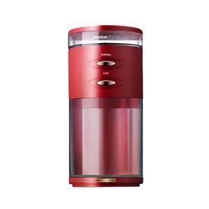 【★新品★】デバイスタイル 電動コーヒーミル レッドdeviceSTYLE コーヒーグラインダー G...