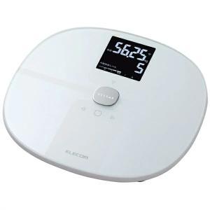 エレコム エクリア / 体組成計 / Wifi接続対応 / ホワイト HCS-WFS01WH|ulmax